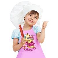 Набор детский collorista мамина помощница фартук+доп.элементы, текстиль, б