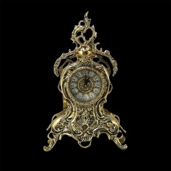 Каминные часы из бронзы дон жуан кришта