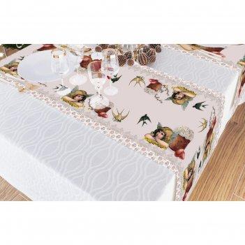 Дорожка на стол, размер 40x140 см