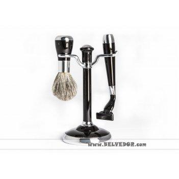 Набор mss 1622 blk/c black для бритья (совместим с gillette mach-3) 2 пр.