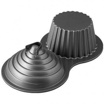Форма для выпечки большого кекса с крышкой wilton 34x27см