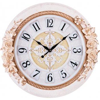 Часы настенные кварцевые 52*9,5*52 см. диаметр циферблата=38 см. (кор=6 шт