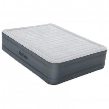 Кровать надувная fortech 203 x 152 x 46 см  со встроенным электронасосом 6