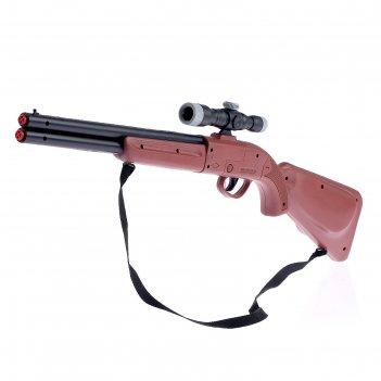 Ружье егерь, при выстреле издает хлопок