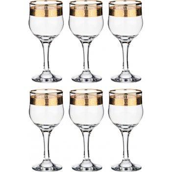 Набор рюмок для кр.вина греция тулип из 6 шт 240...
