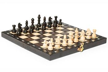 Шахматы школьные 27х27см польша
