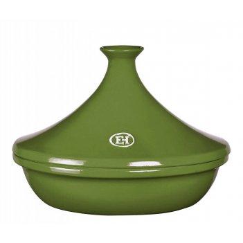 Тажин 2 литра, 27 см emile henry керамический, цвет: лавровый лист