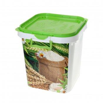 Контейнер пищевой для сыпучих продуктов, 25 л