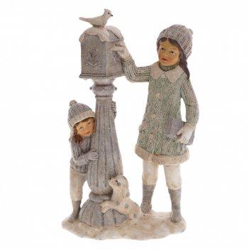 Фигурка декоративная дети, l13,5 w7,5 h22 см