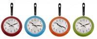 Часы настенные кухонные сковорода, цвета микс