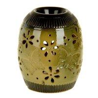 Ночник-арома настольный керамика от 220v бабочки 15,5х11,5х11,5 см