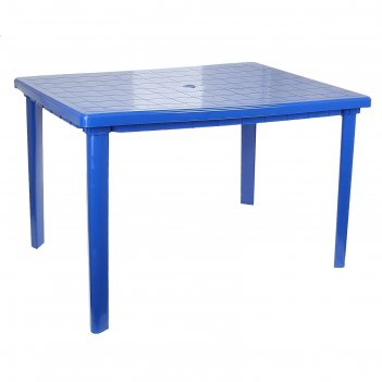 Стол прямоугольный размер 1200х850х750, цвет синий