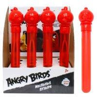 1toy angry birds, мыл. пуз. в колбе, 90 мл., д/б