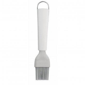 Кисть кондитерская brabantia essential, силиконовая, большая, цвет белый