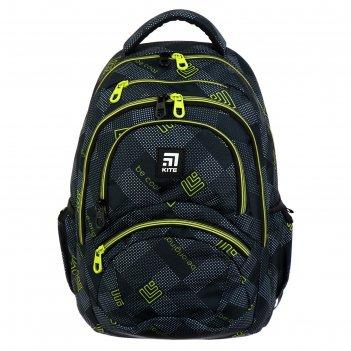 Рюкзак молодёжный kite 2563, 47 х 32 х 13, education, серый