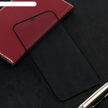 Защитное стекло 2.5d для iphone 12 pro max, полный клей, 0.26 мм, 9н