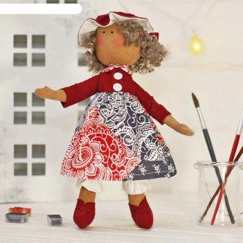 Набор для шитья текстильной игрушки крошка миа