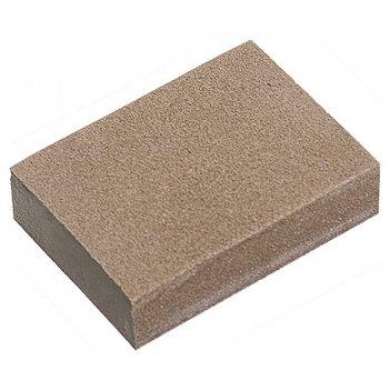 Губка для шлифования, 100 х 70 х 25 мм, средняя жестк., 3 шт., p 60/80, p