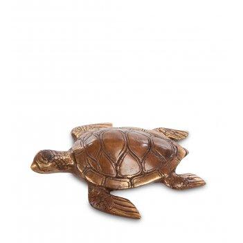 43-071 фигурка морская черепаха (бронза, о.бали)