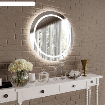 Зеркало навесное с подсветкой d800