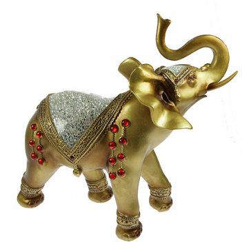 Фигурка декоративная слон 35*15*34см