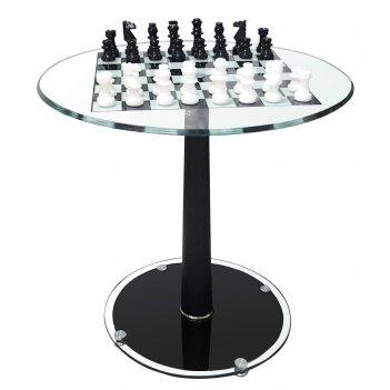 Стол шахматный с фигурами d 61 см tav2008n+1000cbn
