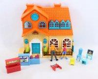 """1toy игровой набор """"мой маленький мир"""": домик, аксессуары, фигур"""