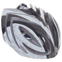 Шлем велосипедиста взрослый от-t23, черно-белый