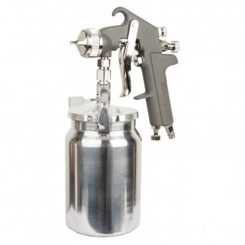 Краскораспылитель fubag basic s1000/1.8 hp, 160л/мин, 3.5 бар, нижний бачо