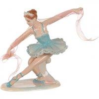Фигурка балерина высота=16 см (кор=12шт.)