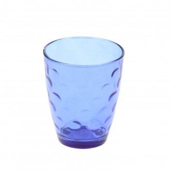 Стакан стеклянный 400 мл венский вальс, синий