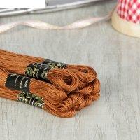 Мулине 10м, (№6206), цвет коричневый