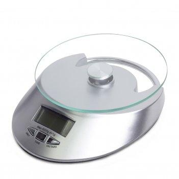 Весы электронные кухонные kamille 19,5*22,7*7 см