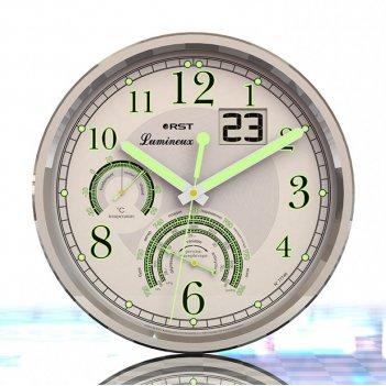 Настенные часы - метеостанция lumineux 77746