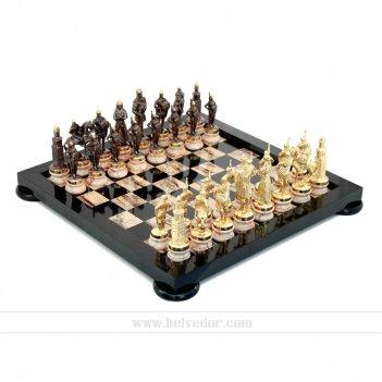 шахматы из долерита