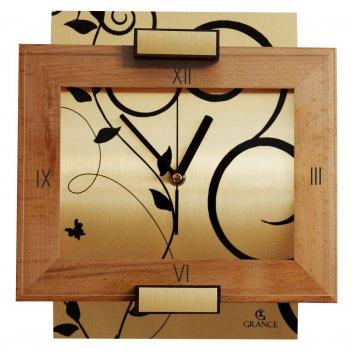Часы настенные av-02  тик  300х270х40 мм