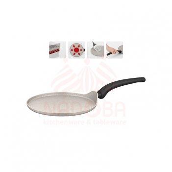 Сковорода блинная с антипригарным покрытием marmia 25 см 728321