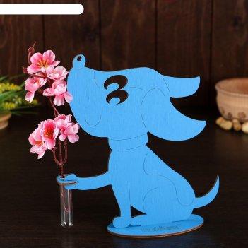 Декоративная мини-ваза щенок  21,4 х 19,2 х 6,0с