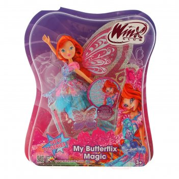 Кукла баттерфликс-2. двойные крылья winx club  микс iw01251500