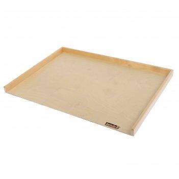 Доска пироговая с бортиком 70х50х0,4 см