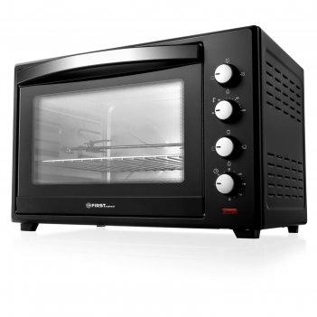 Мини-печь first fa-5047 black, 2200 вт, 60 л, 6 режимов, гриль, конвекция,