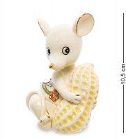 Jp-121/ 7 фигурка мышка с орехом (pavone)