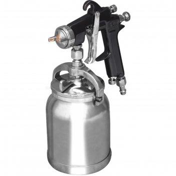 Краскораспылитель кратон hvlp-02s, дюза 1.5 мм, 3-4 атм, 85-110 л/мин, 1 л