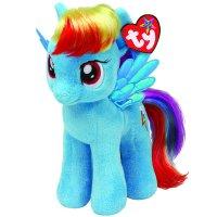 Мягкая игрушка пони rainbow dash my little pony, 25см