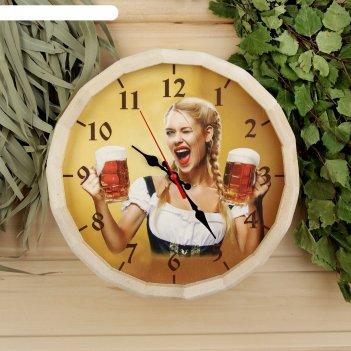 Часы банные бочонок добропаровъ. время отдохнуть
