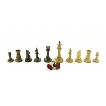 Шахматные фигуры стаунтон дуб и мореный дуб