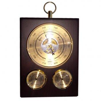 Метеостанция(барометр, термометр, гигрометр), h 21 см