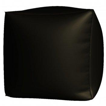 Пуфик куб макси, ткань нейлон, цвет черный