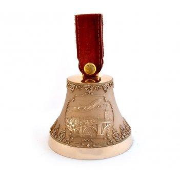 Бронзовый колокольчик с гербом воронежа