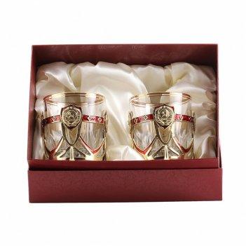 Бокалы для виски ссср (2 шт) в картонной коробке